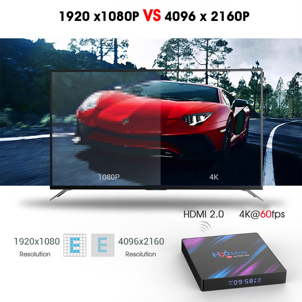 h96 max rk3318 2gb 16gb tv box price