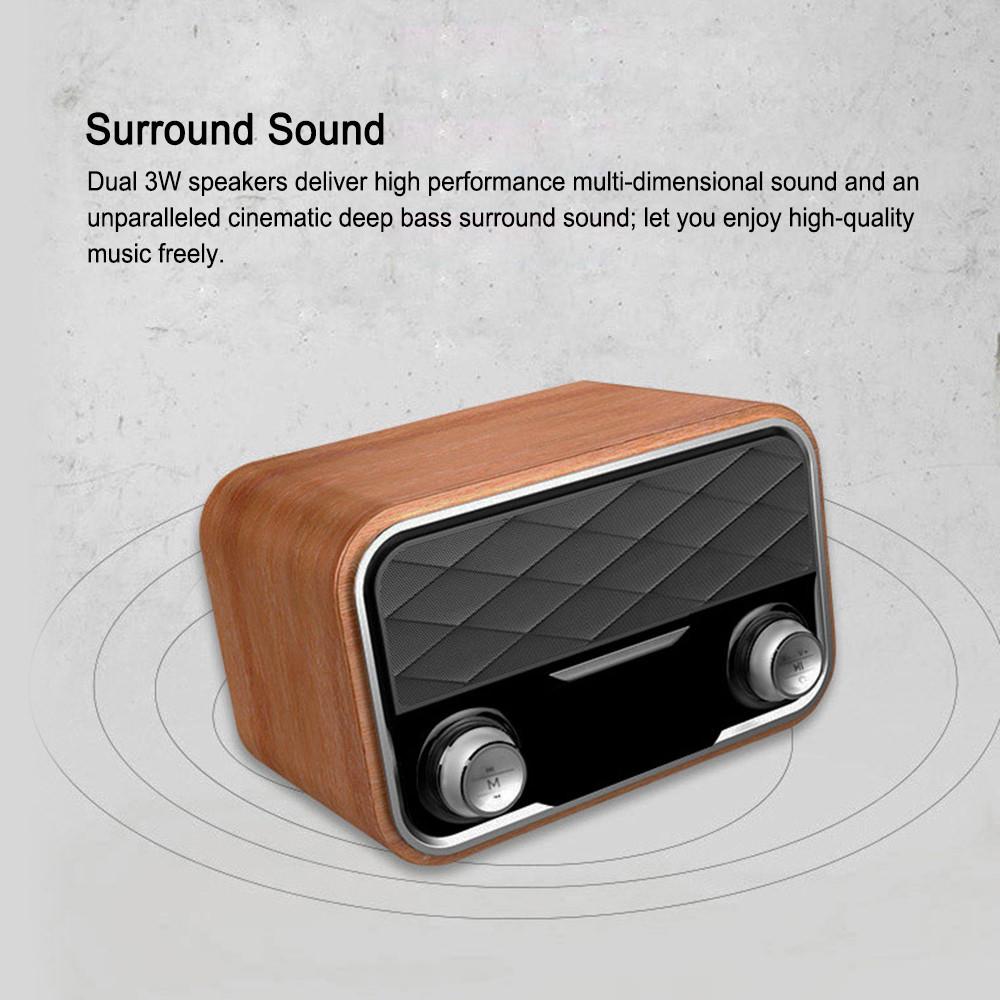 2019 i10 portable retro bluetooth speaker