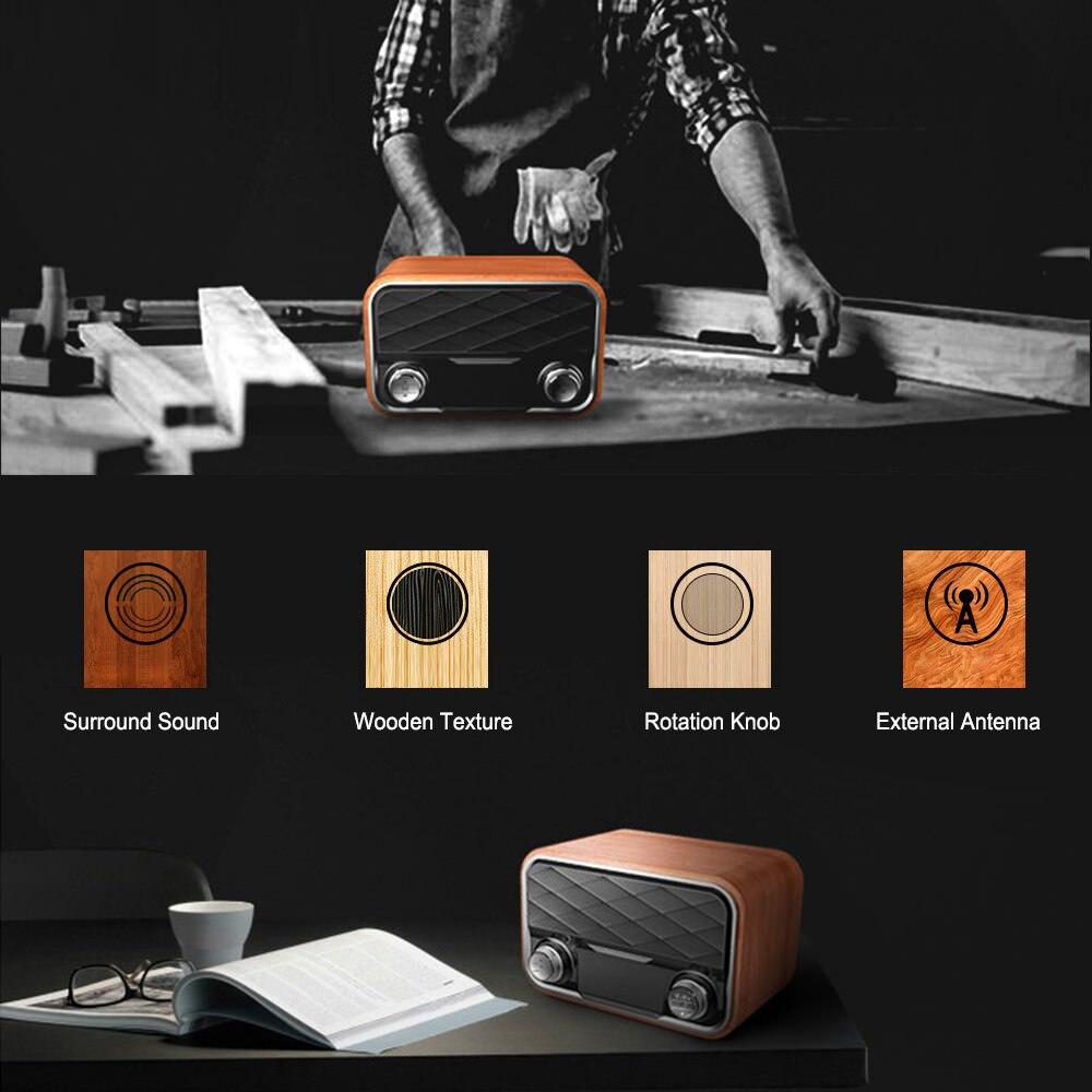 i10 portable retro bluetooth speaker 2019