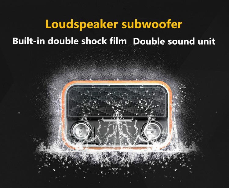 i10 retro bluetooth speaker
