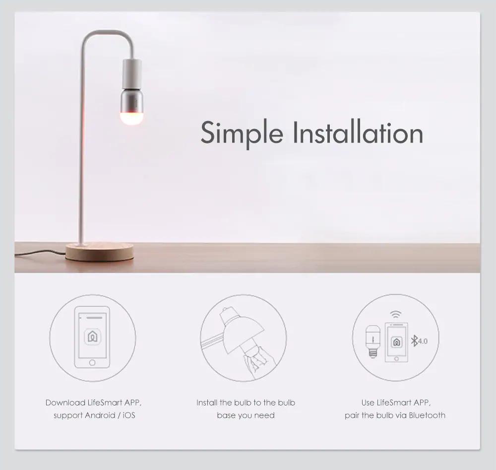 lifesmart ls030un bluetooth smart bulb 2019