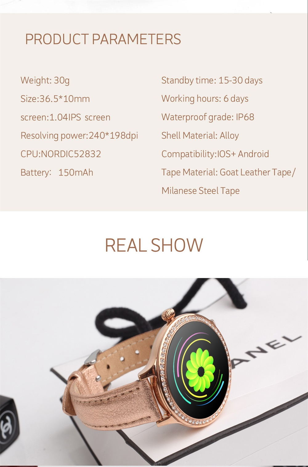 m8 smartwatch 2019