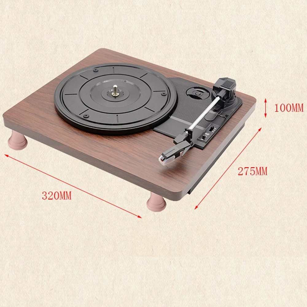 new mdy-1305 retro record player
