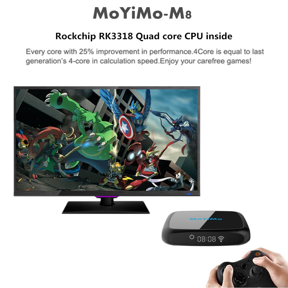 2019 moyimo-m8 tv box 4gb 32gb