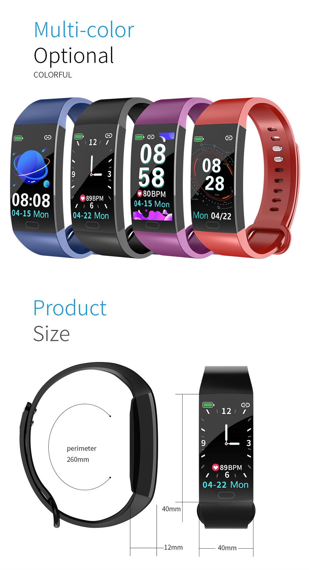 review rd11 sport smart bracelet