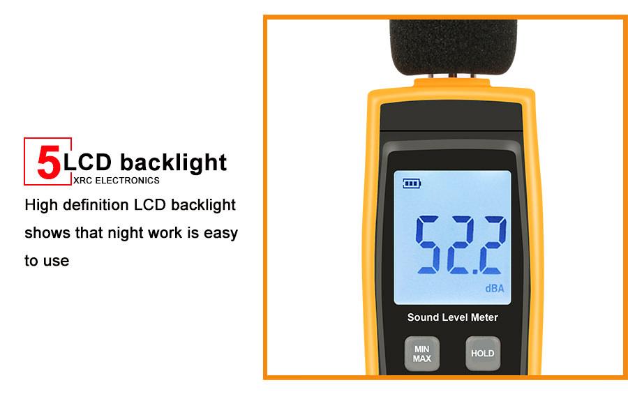 buy rz digital sound level meter rz1359