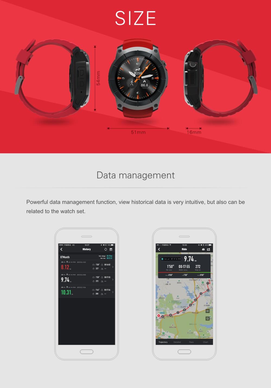 buy s958 gps 1.3inch smartwatch phone