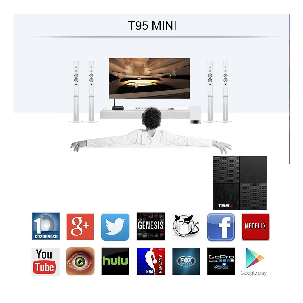 2019 t95 mini smart tv box
