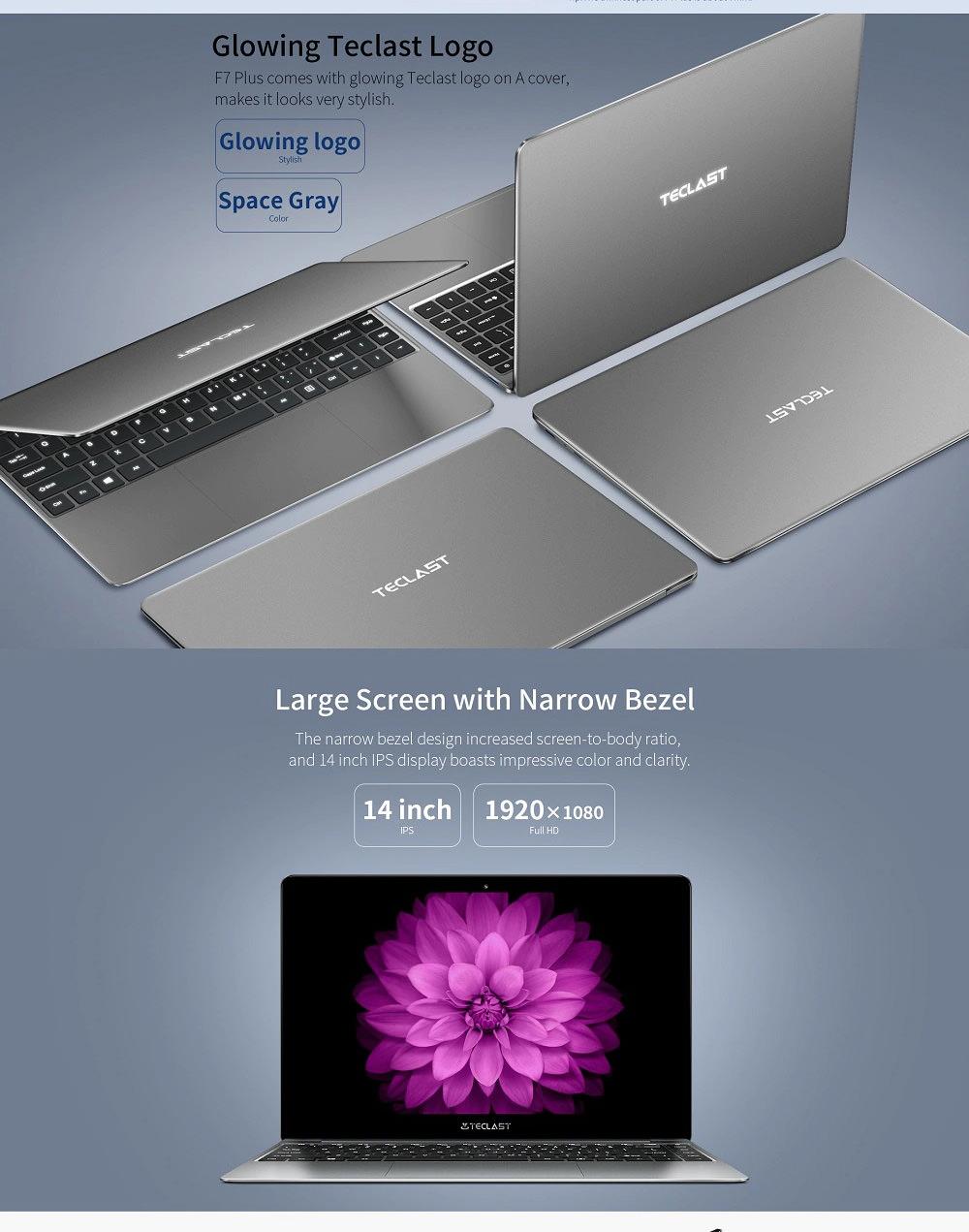 new teclast f7 plus notebook 8gb 256gb