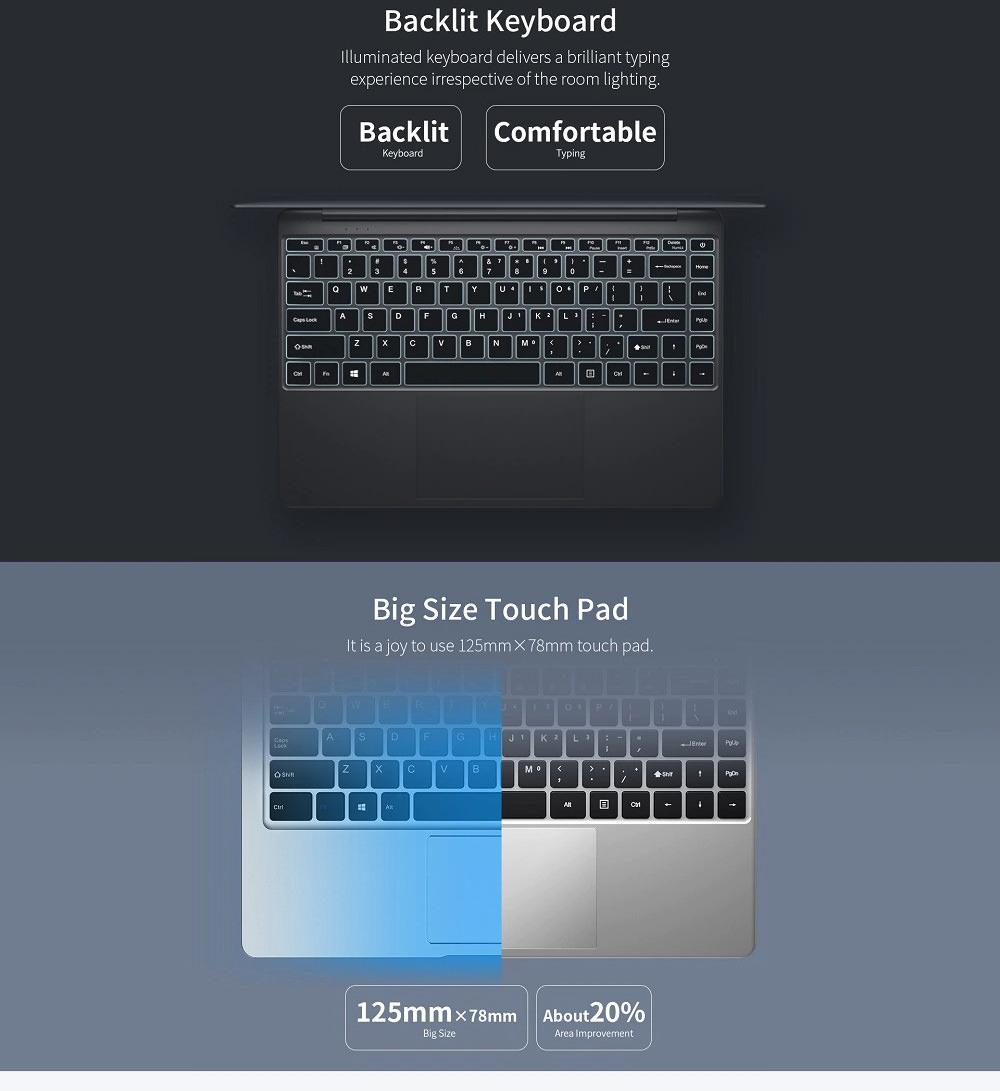 teclast f7 plus notebook 8gb 256gb 2019