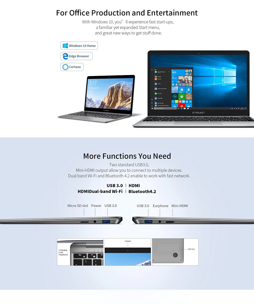 teclast f7 plus notebook 8gb 256gb price