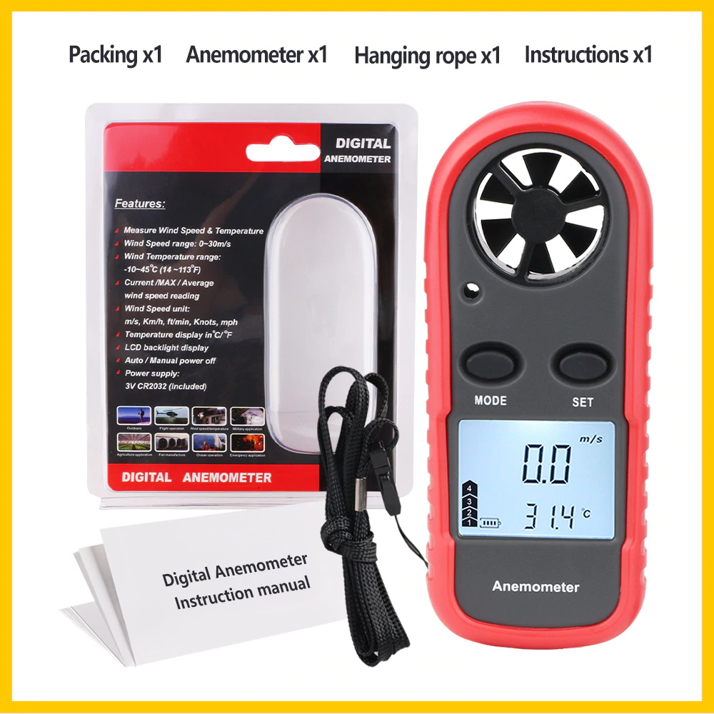 wt816 wind speed meter for sale