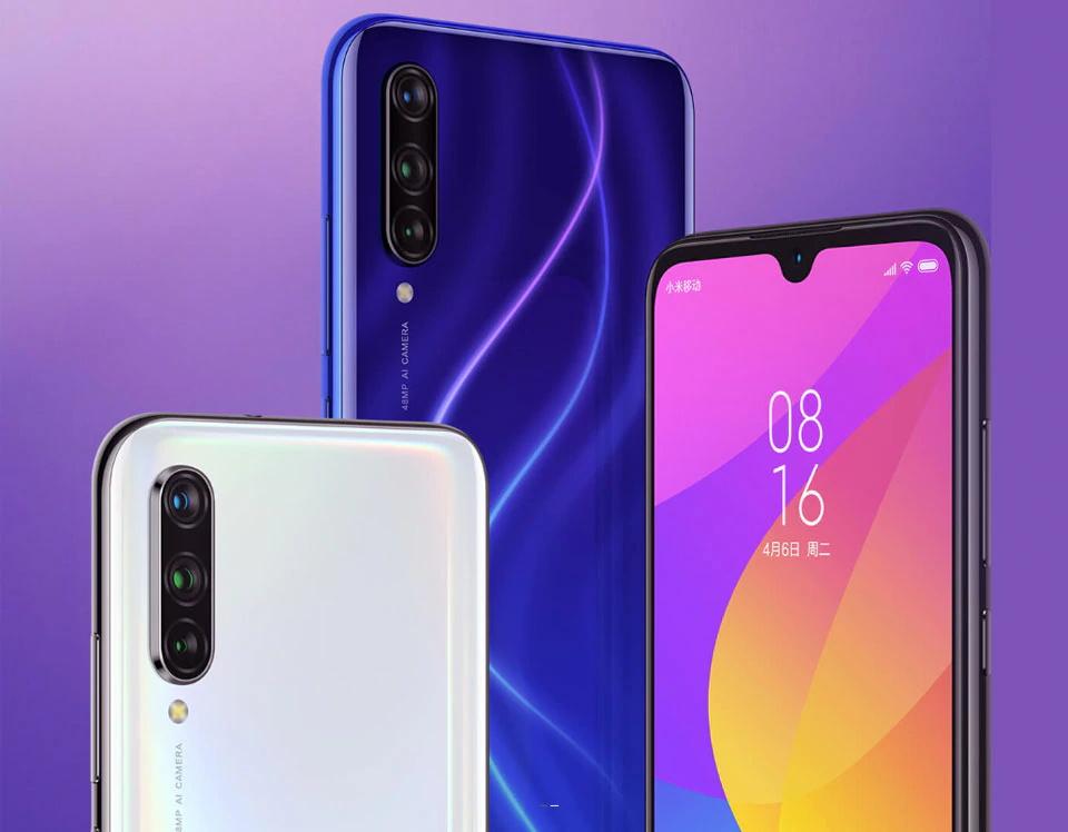 new xiaomi mi cc9e smartphone 6gb/64gb