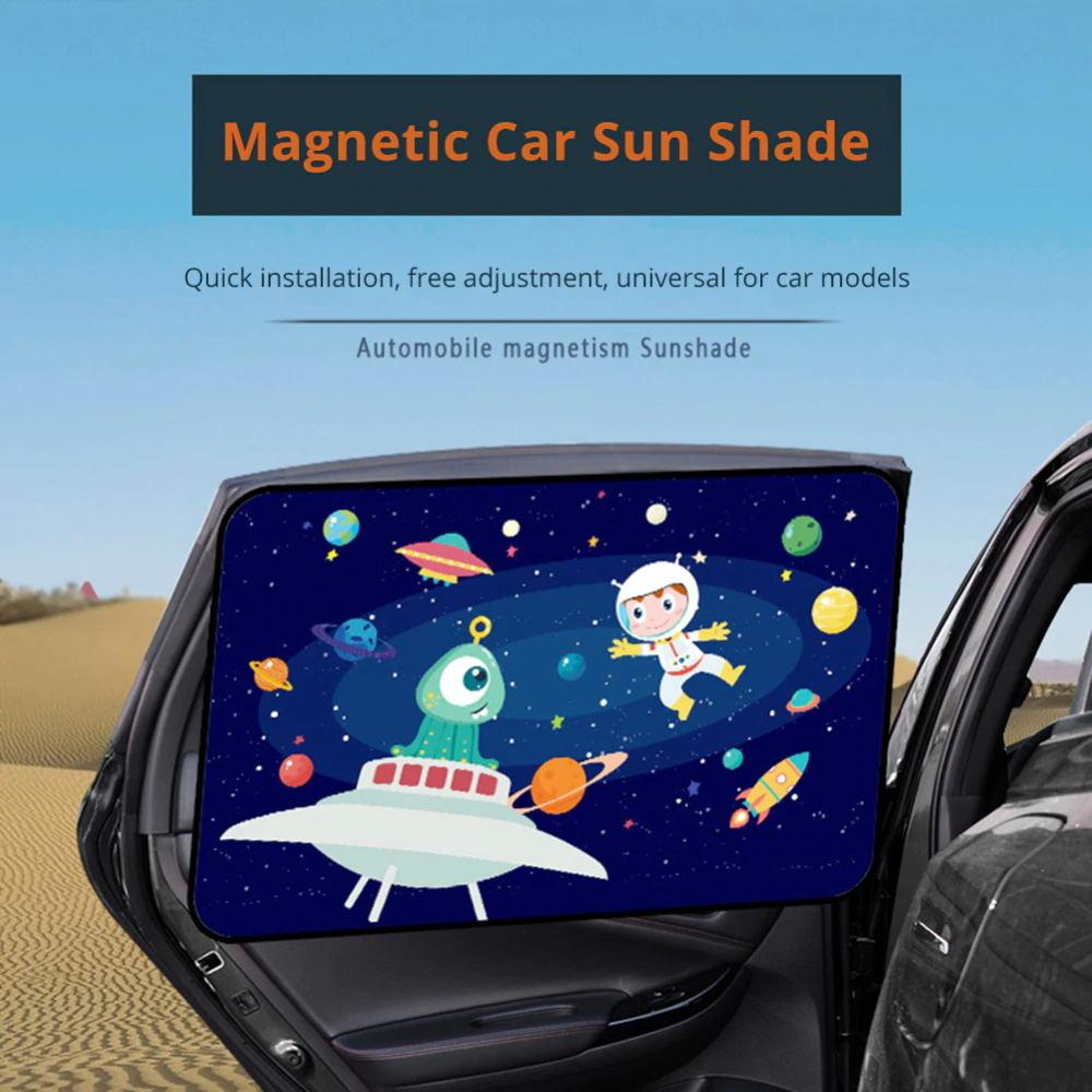 universal magnetic car sun shade