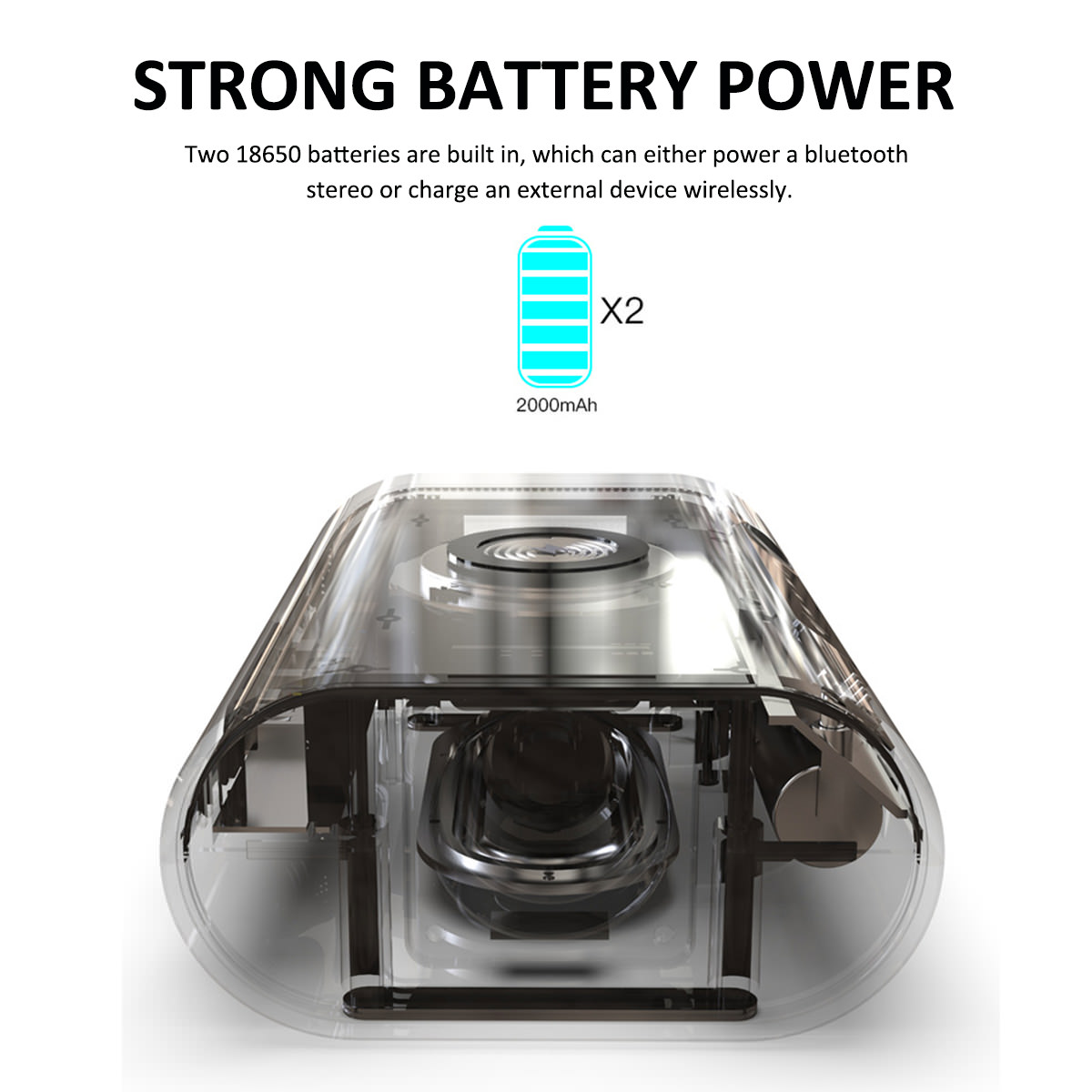 buy 3 in 1 portable wireless charger/bluetooth speaker/power bank
