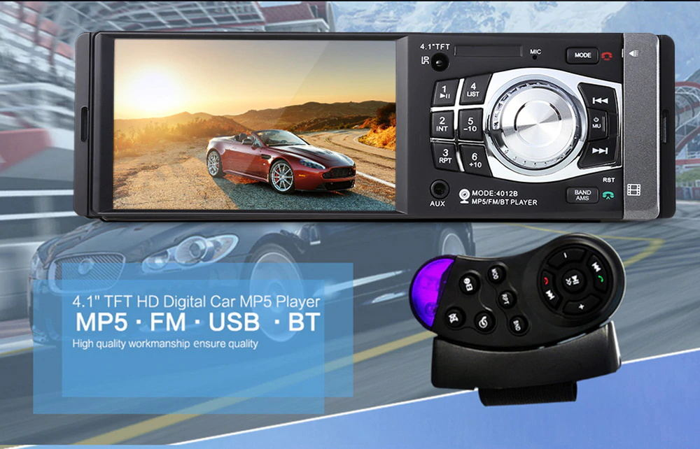 buy 4012b car mp5 audio video player