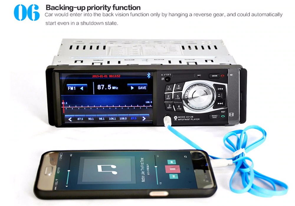 4012b car mp5 player for sale