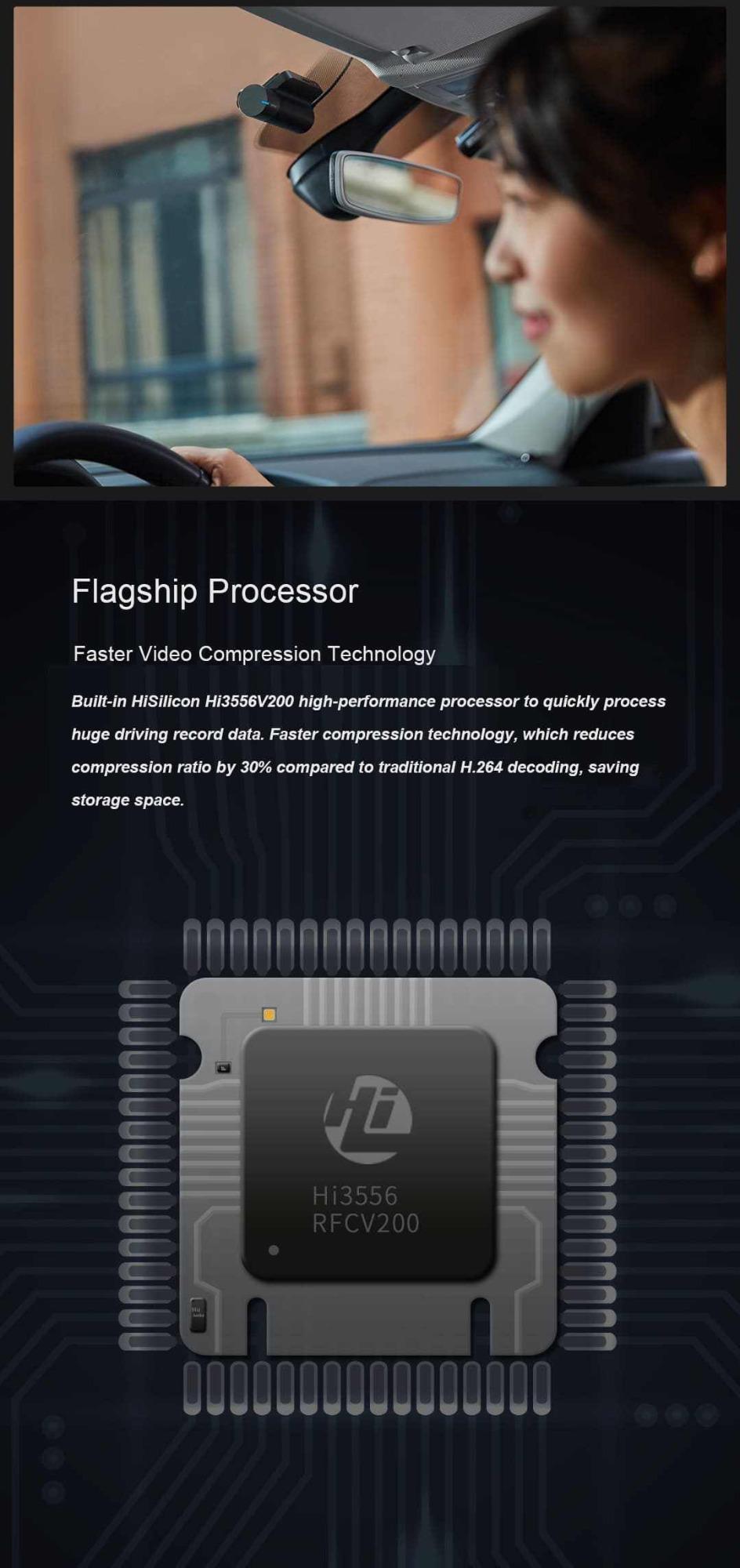 new 70mai smart dash cam 2