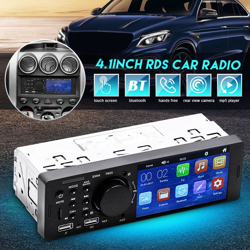 7805 4.1 inch car mp5 player