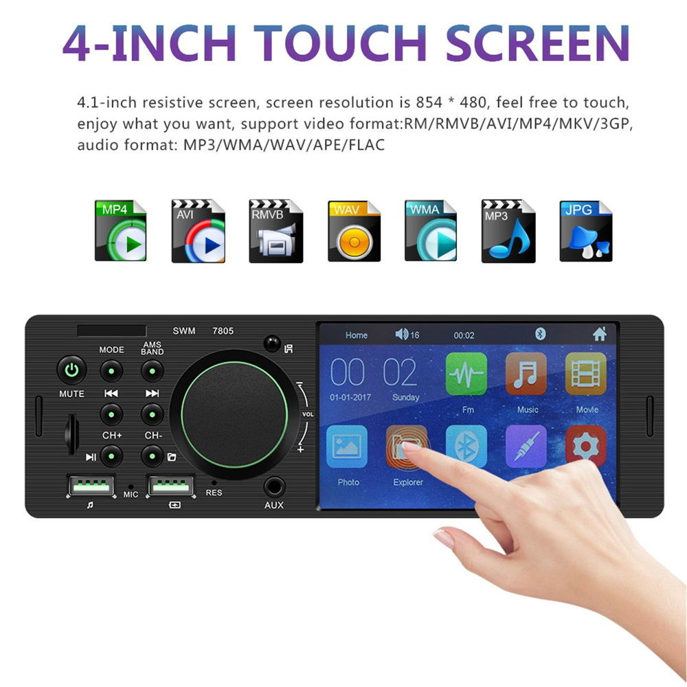 buy 7805 4.1 inch car mp5 player