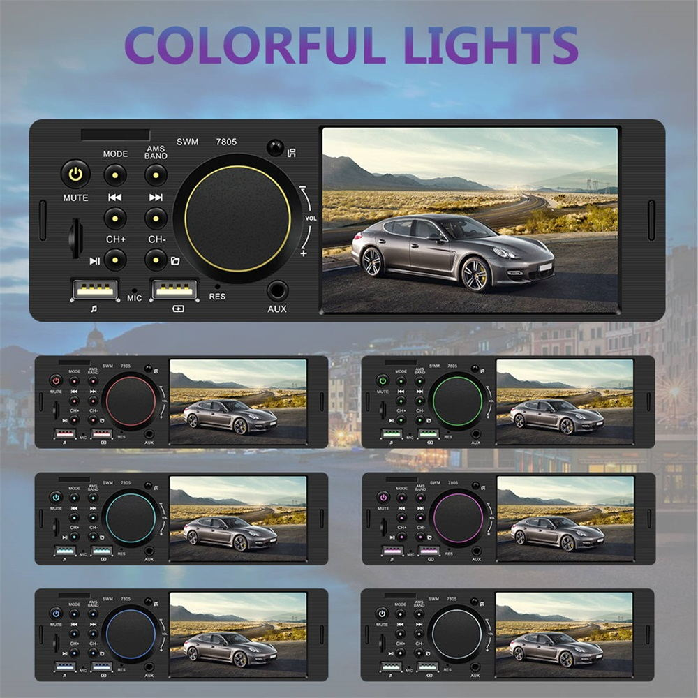 hotsale 7805 4.1 inch car mp5 player
