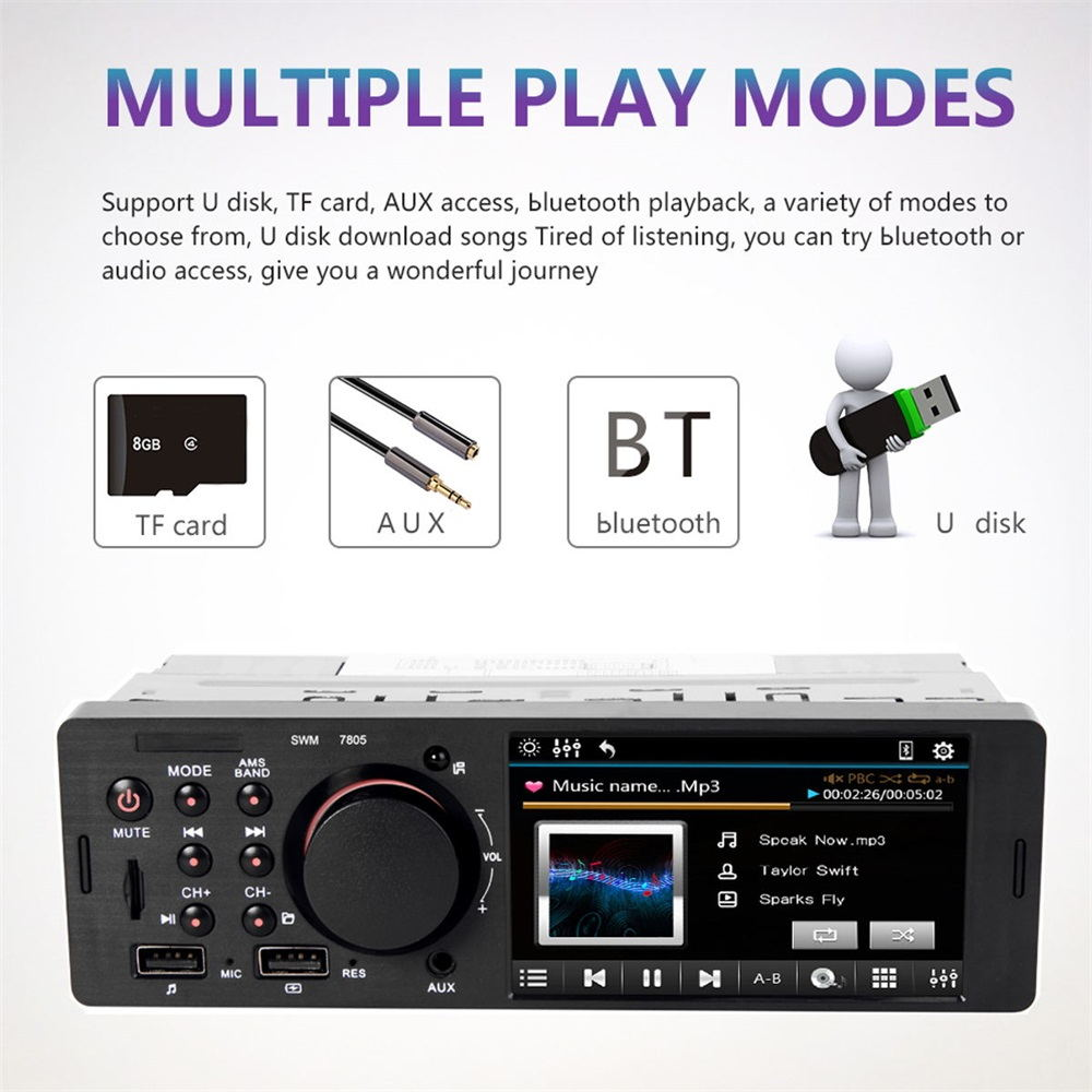 cheap 7805 4.1 inch car mp5 player