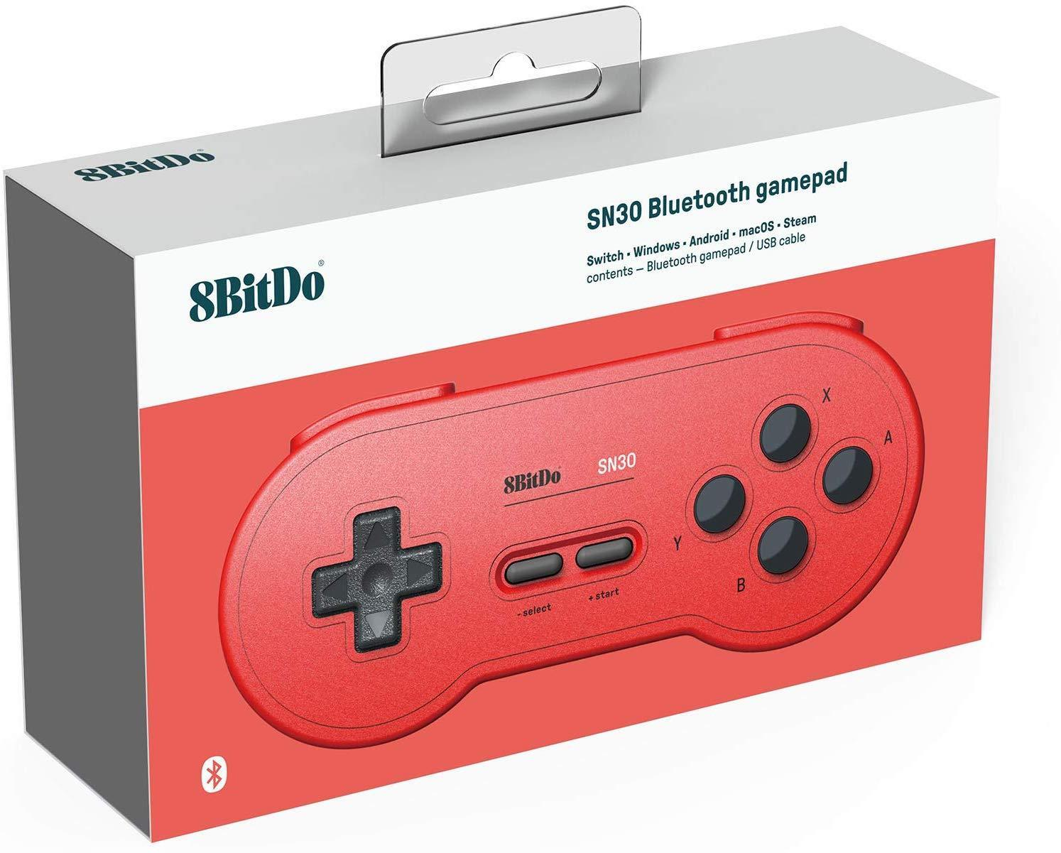 buy 8bitdo sn30 bluetooth game controller