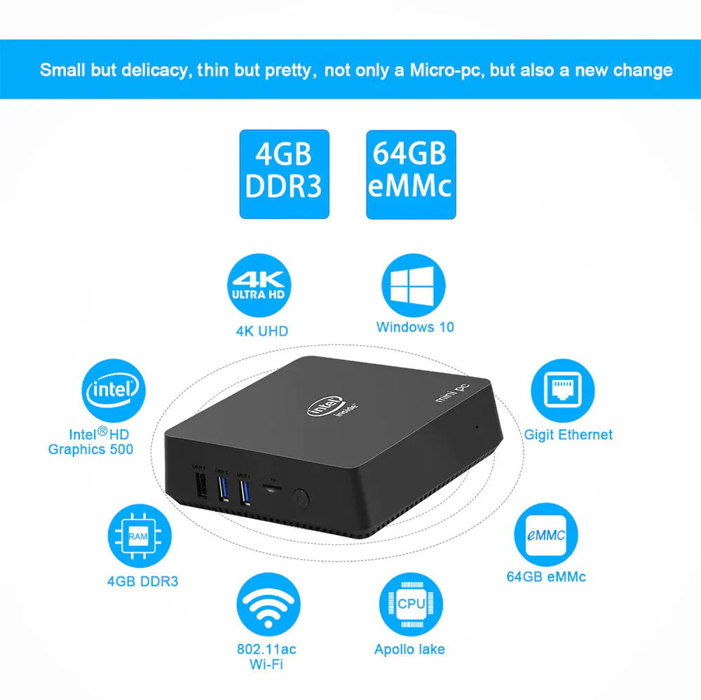 buy ak5 n3450 cpu mini pc