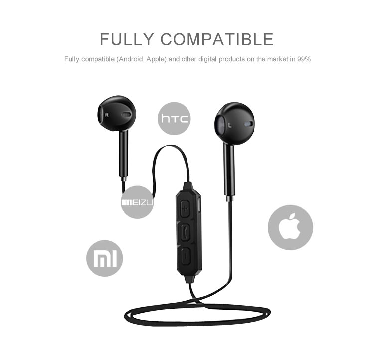 cheap bt-66 bluetooth stereo earphones