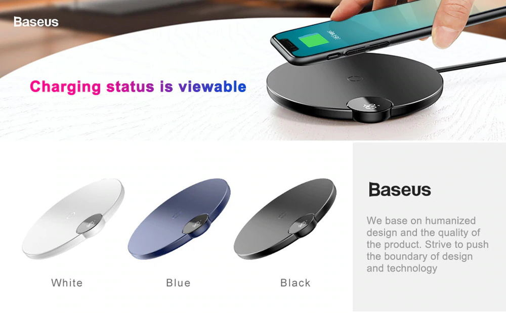baseus bswc-p21 wireless charger