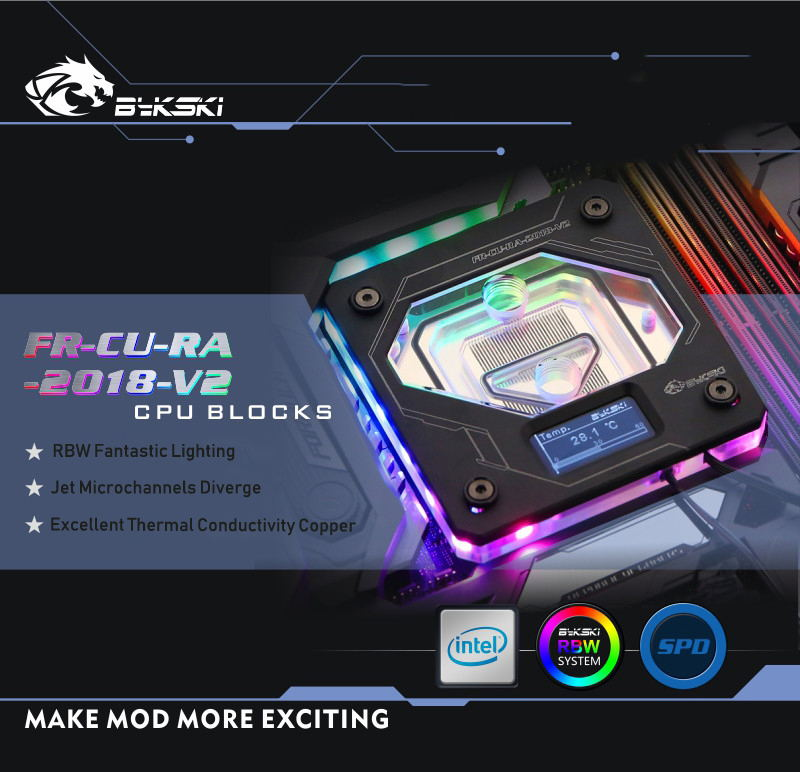 bykski fr-cu-ra-2018-v2 cpu block