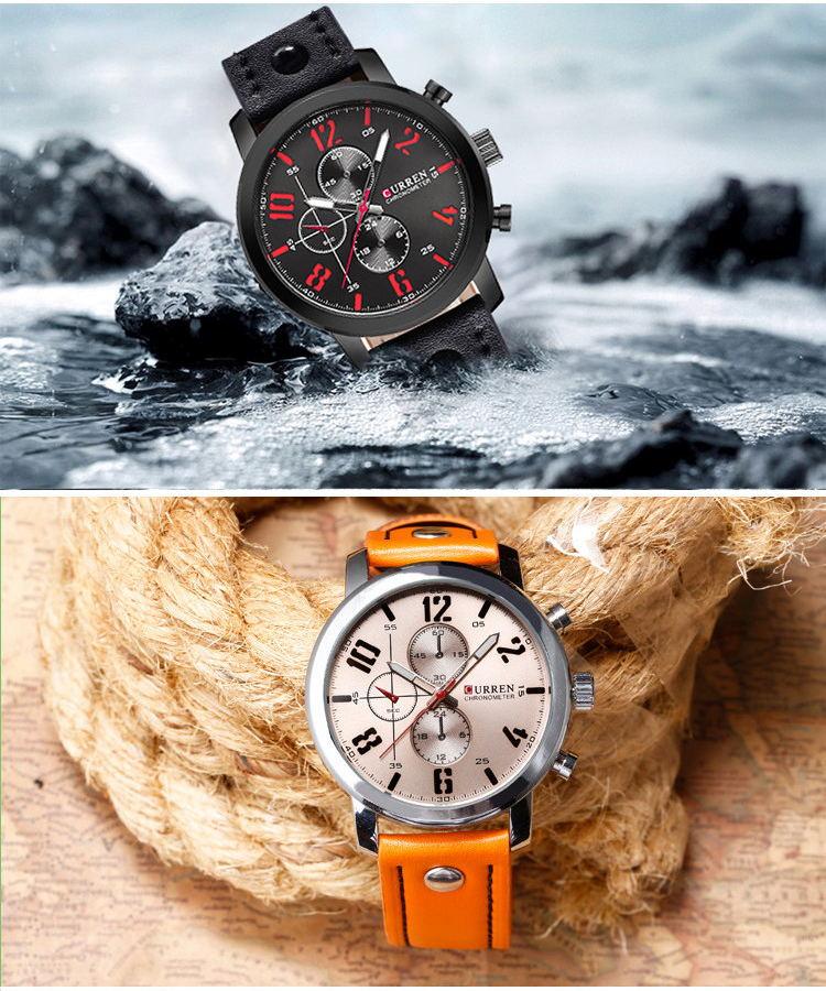 new curren 8192 wrist watch