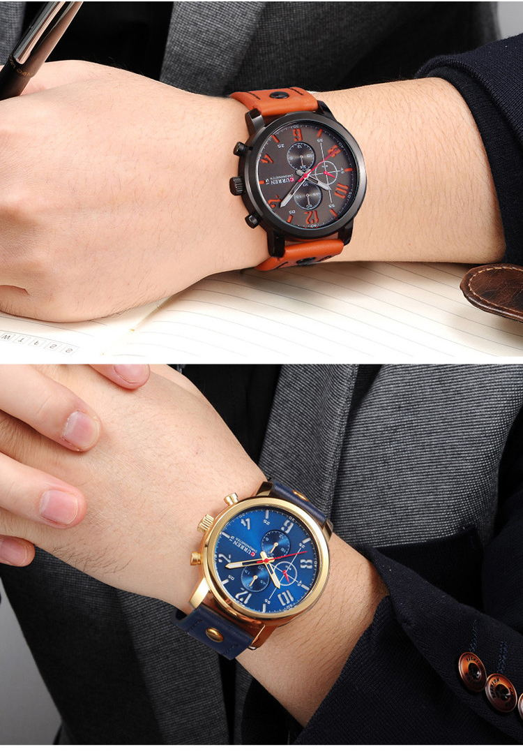 2019 curren 8192 fashion quartz wrist watch