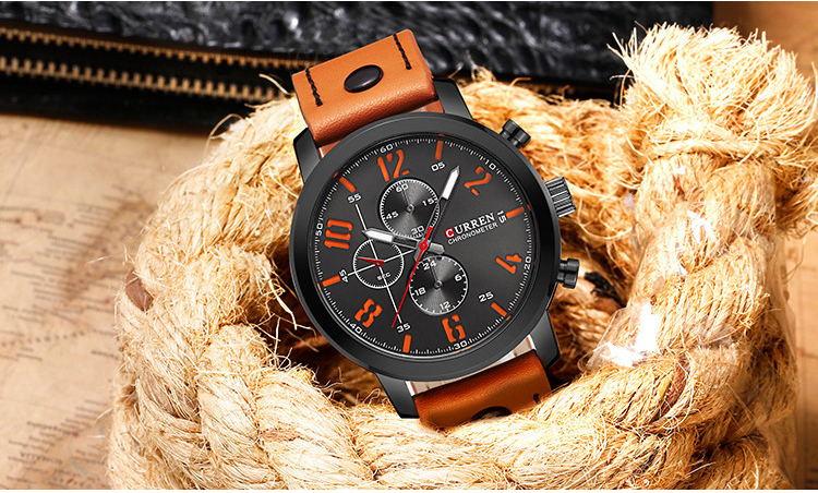 curren 8192 wrist watch for sale