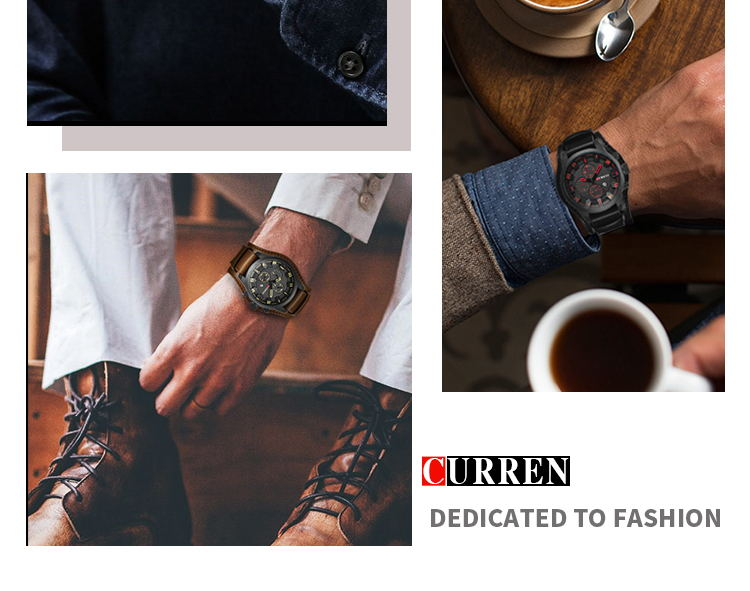 2019 curren 8225 quartz watch