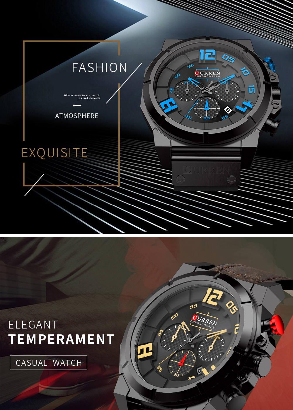 curren 8287 quartz watch