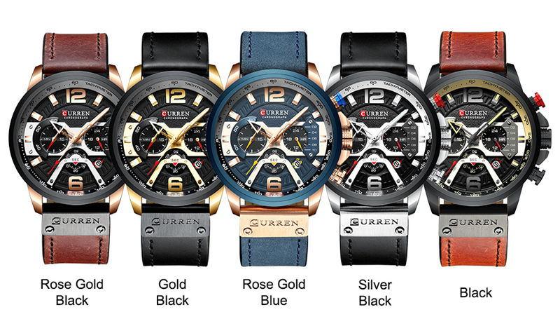 buy curren 8329 sport wrist watch