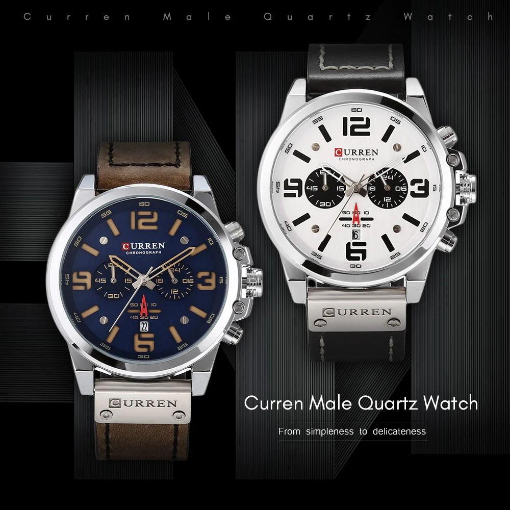 curren 8314 male quartz watch