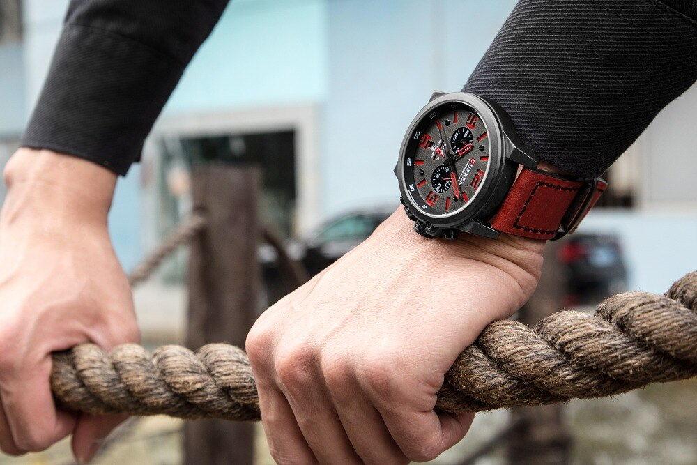 buy curren 8314 chronograph quartz watch