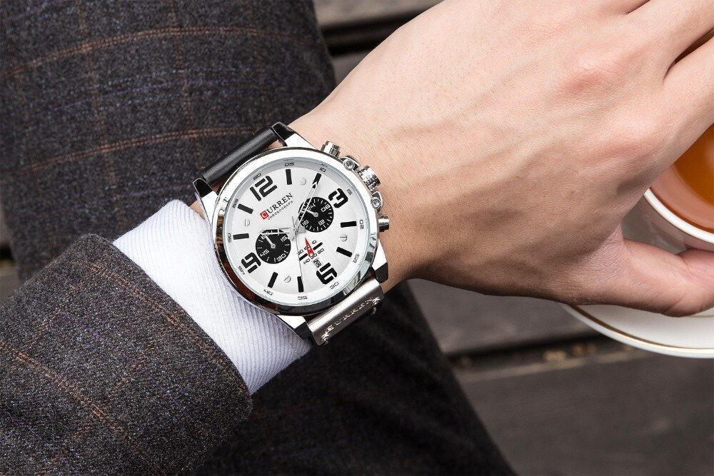 buy curren 8314 chronograph wristwatch
