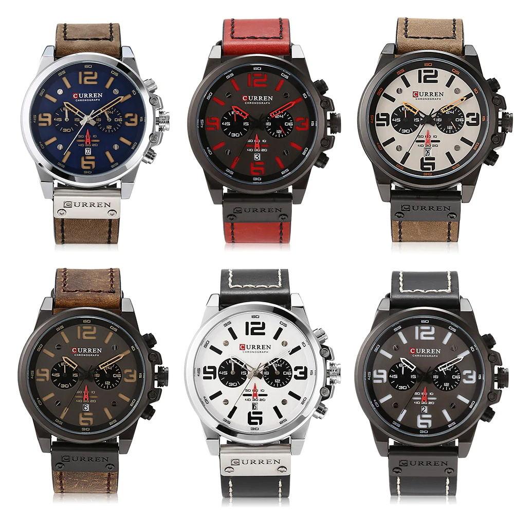cheap curren 8314 male quartz watch