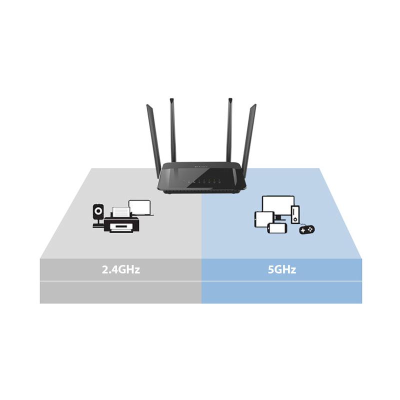 D-Link DIR-846 Wireless Dual Band Router 1200M Full Gigabit MU-MIMO