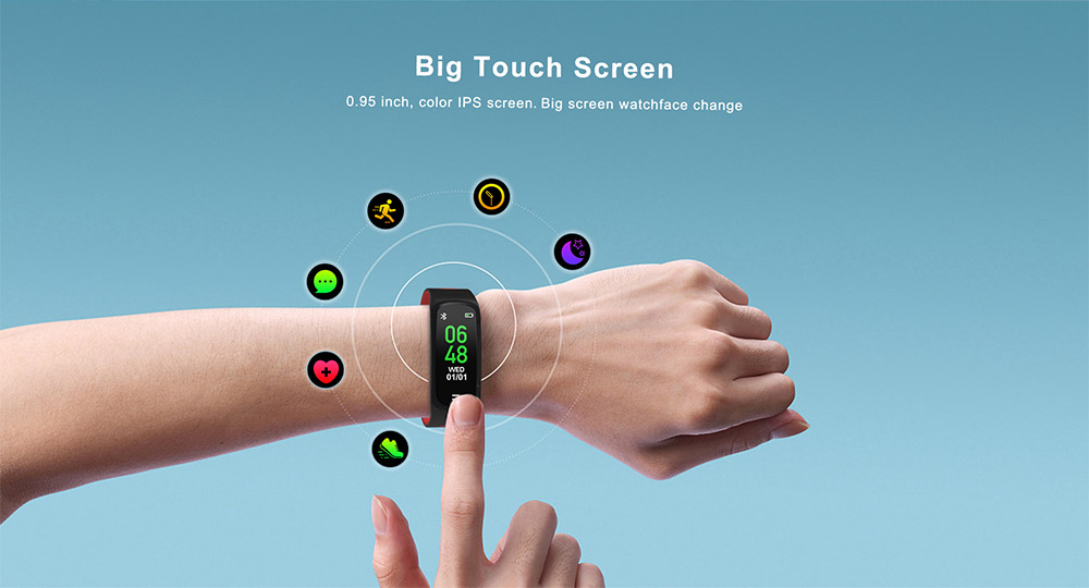 dt no.1 f16 smart wristband for sale