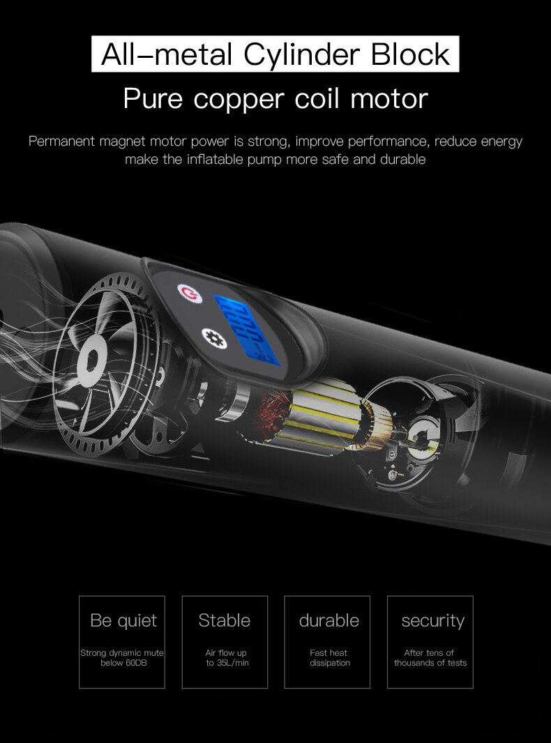 e68 12v air compressor
