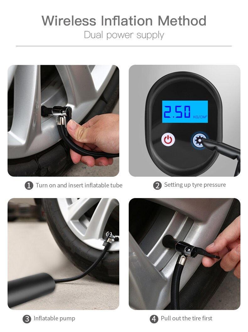 e68 12v inflatable pump online