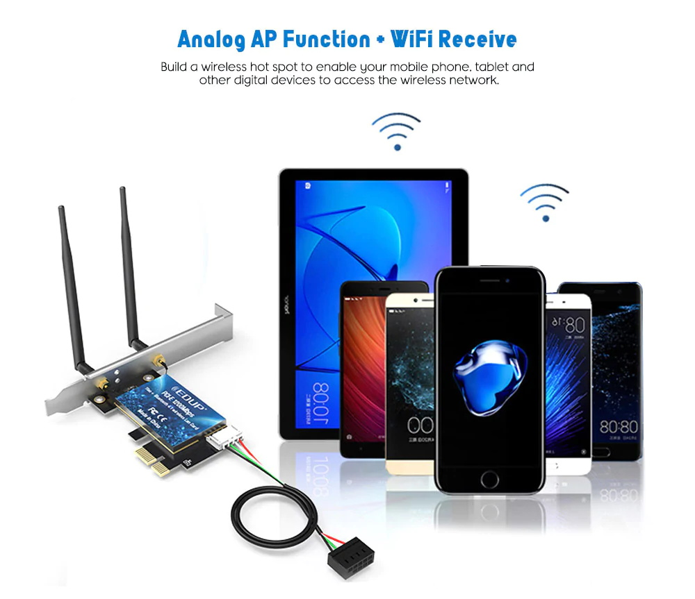 edup ep-9620 wireless adapter for sale