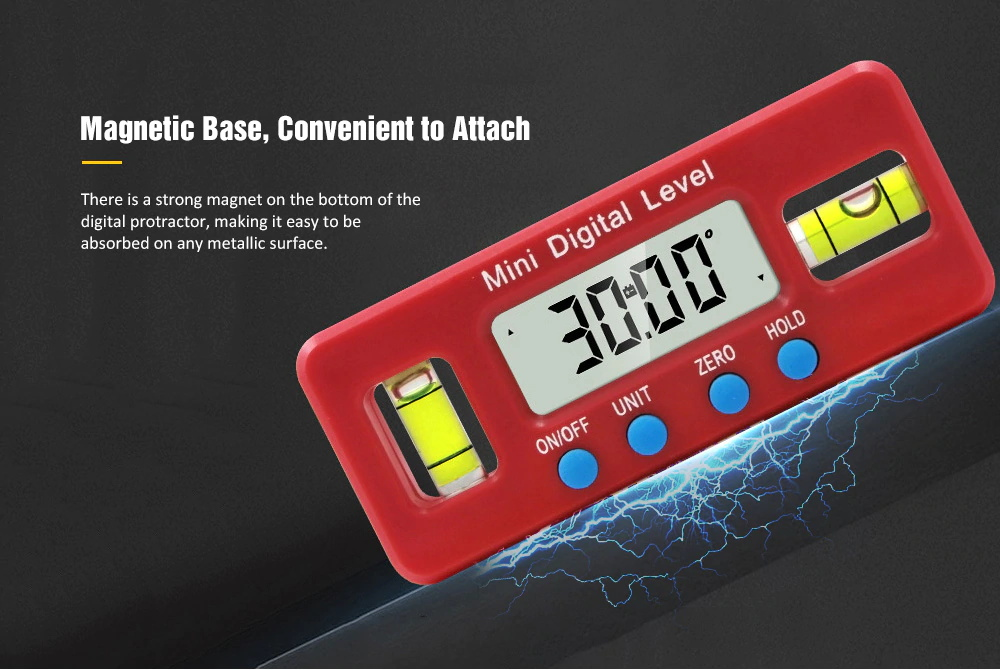 mini electronic level angle gauge