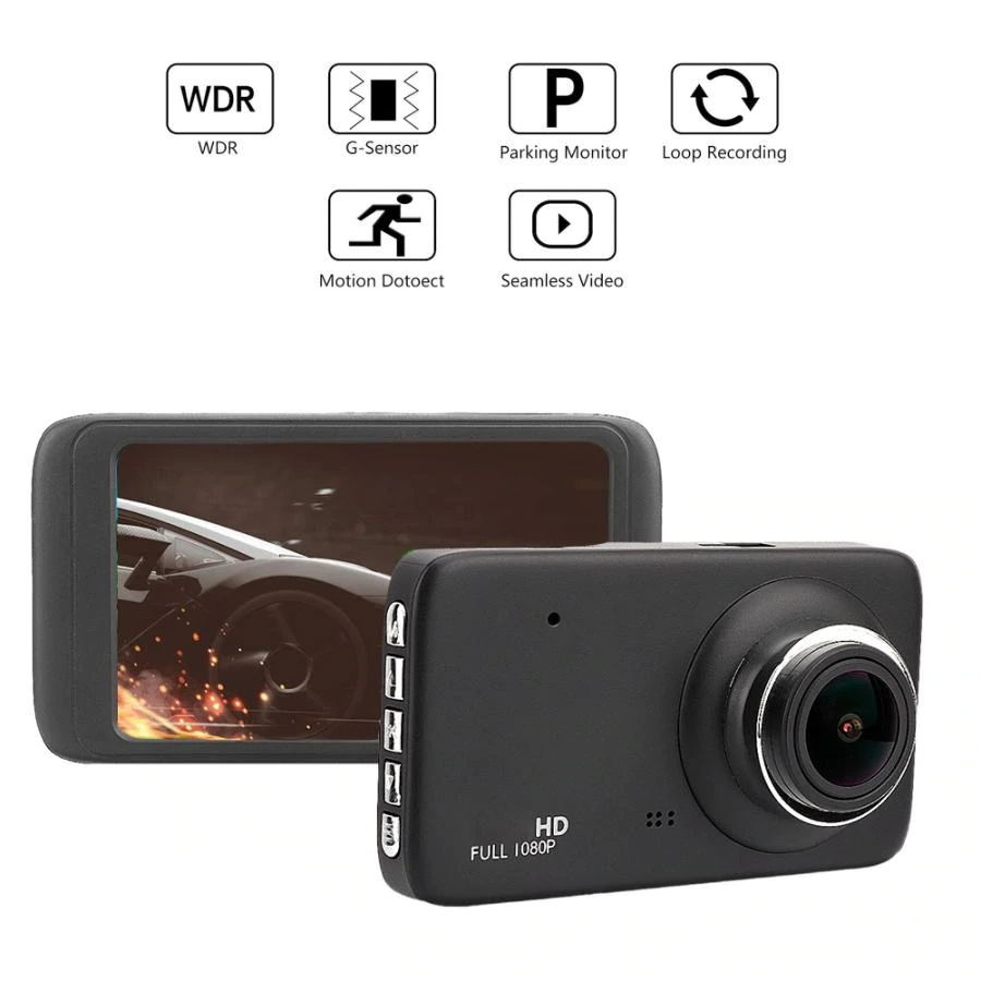 fh401 4inch 1080p hd car camera for sale