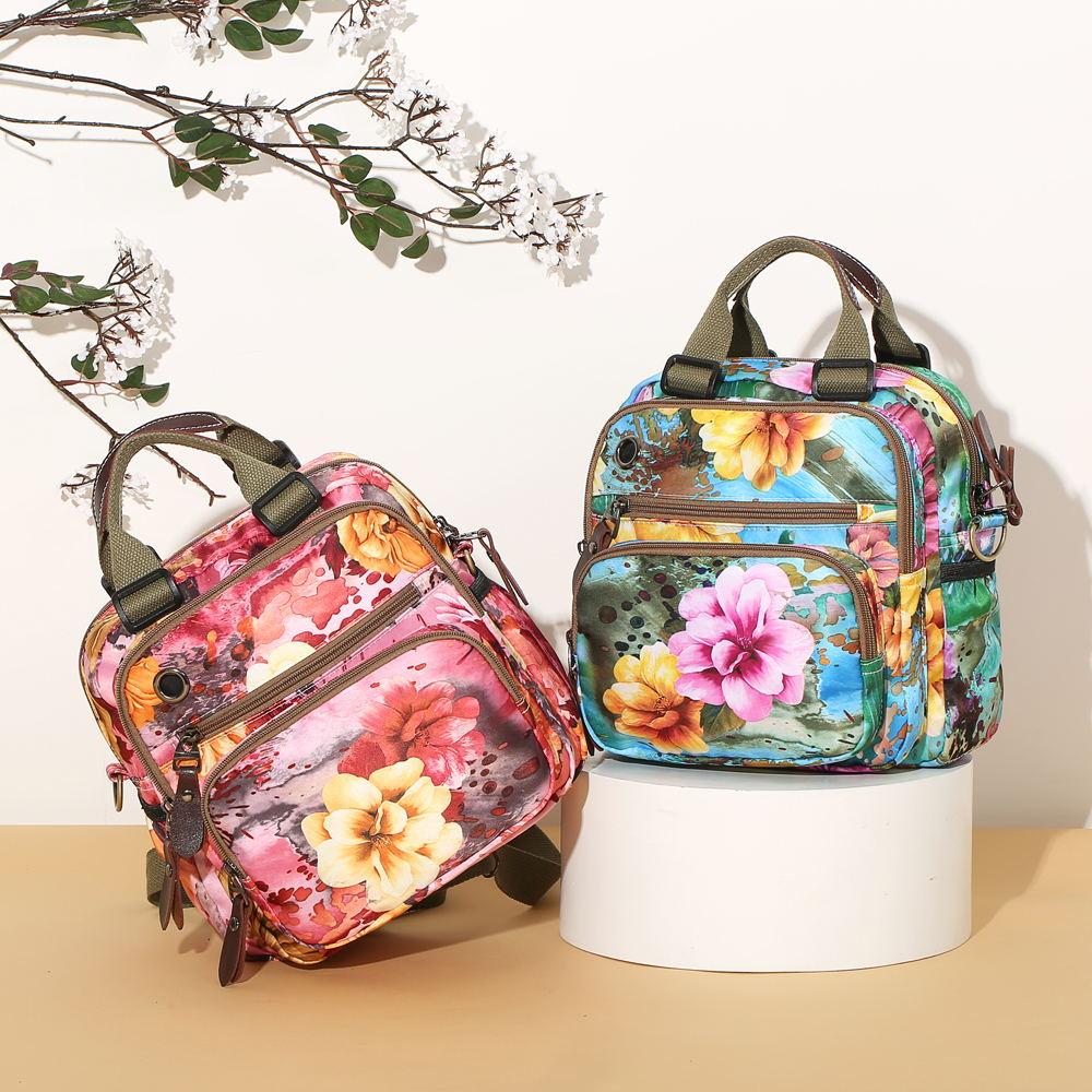 flower pattern crossbody bag