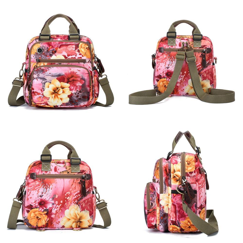 new flower pattern crossbody bag
